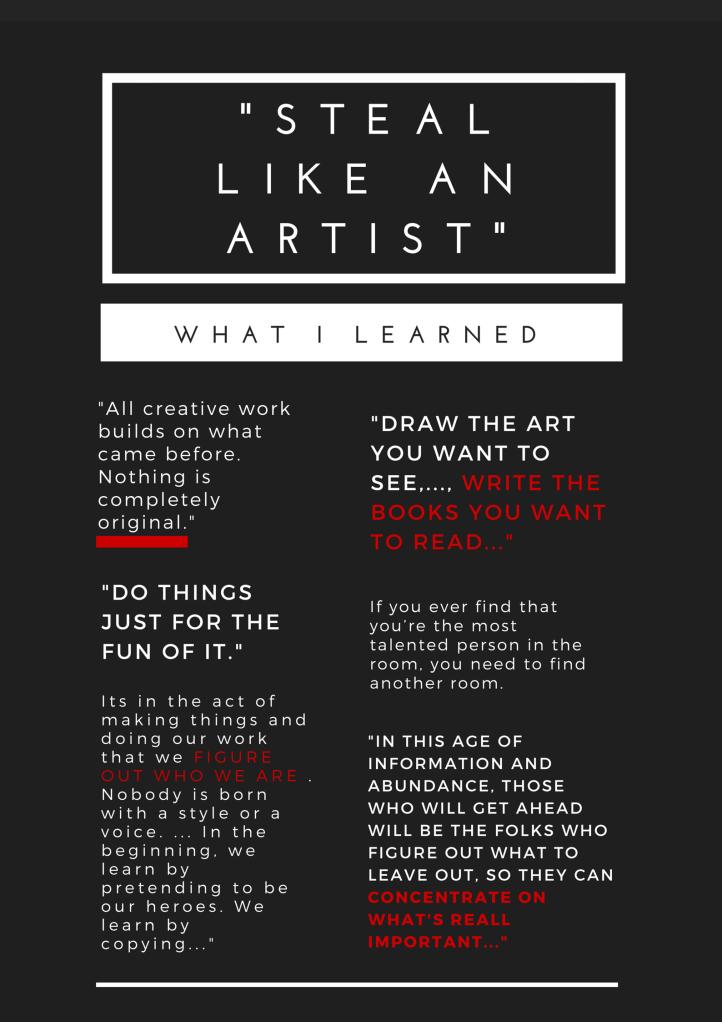 -Steal like an artist-