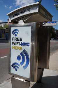 Free WiFi in NYC