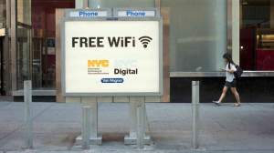 Free Wi-Fi Zone around 150 ft.