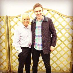 Tom Cridland with Nigel Olsson